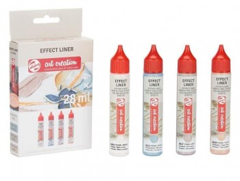 EFFECT LINER SET 4X28ML COLORES PERLADOS