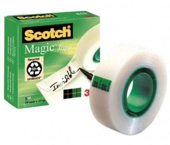 CINTA ADHESIVA SCOTCH MAGIC 19X33 INVISIBLE