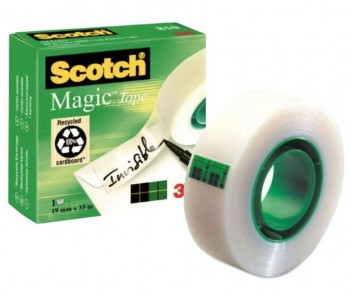 CINTA ADHESIVA SCOTCH MAGIC 19X33 VERDE
