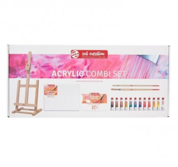 SET PINTURA ACRILICA ART CREATION COMBI EXPRESION